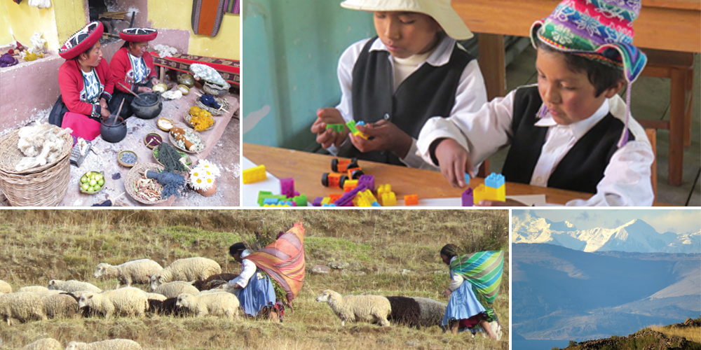 Photo collage from Peru trip