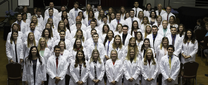 physical therapy class of 2021
