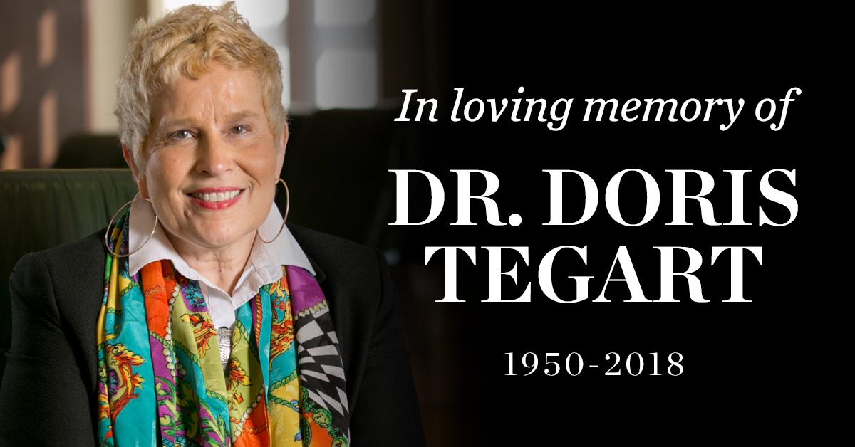 1167001a20ad5 Dr. Doris Tegart