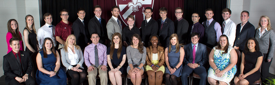 Student Government Association members 2018
