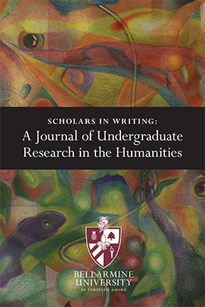 Scholars in Writing 2018 cover