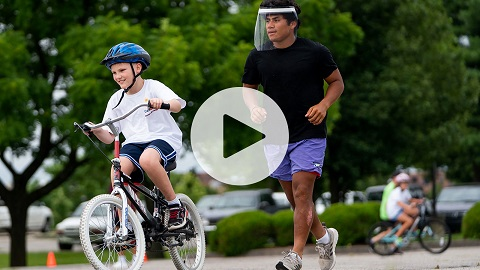 Bellarmine hosts iCan bike camp